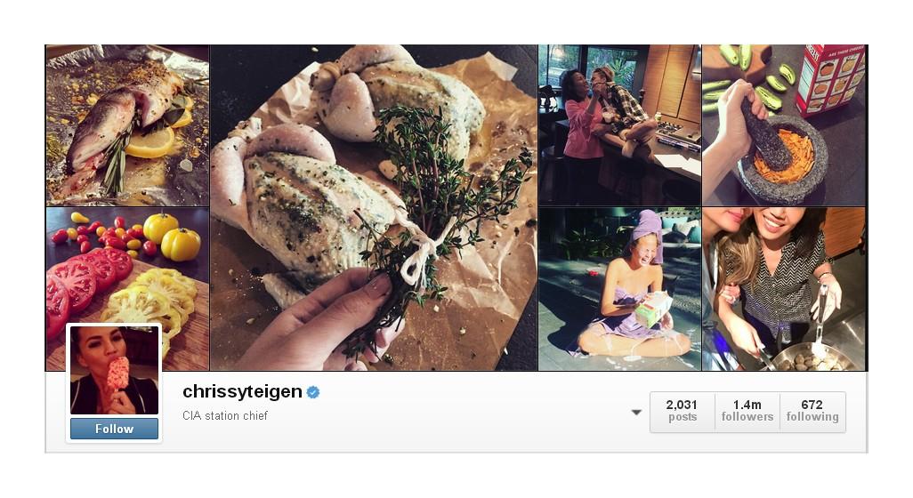 Chrissy Teigen instagram