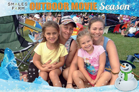 Smales Farm Outdoor Movie Season Feb/Mar 2016