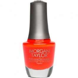 Morgan Taylor Orange Crush