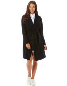 drapey-tie-waist-coat-black-full-cl29705wol